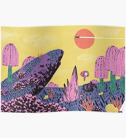 Alien Planet Poster
