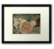 Henri de Toulouse Lautrec -  Two Friends (1895)  Framed Print
