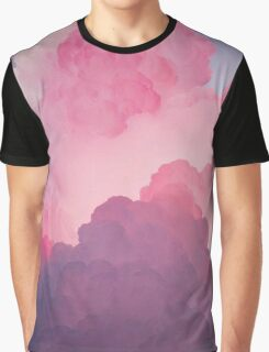 Pink Clouds Graphic T-Shirt