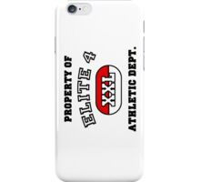Property of Elite 4 Athletic Dept. iPhone Case/Skin