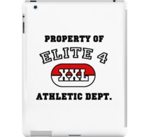 Property of Elite 4 Athletic Dept. iPad Case/Skin