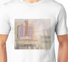 Garden Theater-scroll down to view more of my work Unisex T-Shirt