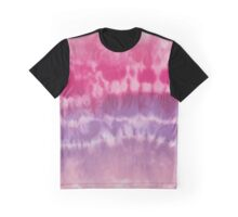 Pink & Purple Psychedelic Clouds Pattern  Graphic T-Shirt