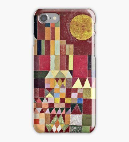 Paul Klee - Castle And Sun  iPhone Case/Skin