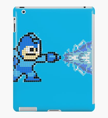 Megaman X Buster - Pixel Art iPad Case/Skin