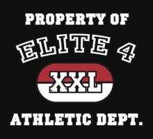 Property of Elite 4 Athletic Dept. by ScottW93