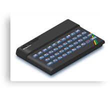ZX Spectrum Canvas Print