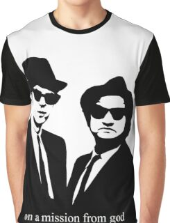 The Blues Brothers Graphic T-Shirt