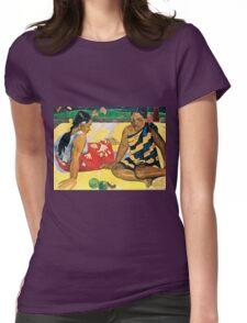 Paul Gauguin - Parau Api  What News (1892)  Womens Fitted T-Shirt