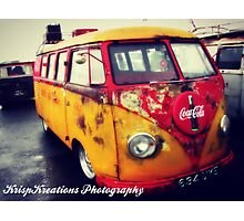 Cola Volkswagen Photographic Print