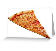 Pizza Slice Greeting Card