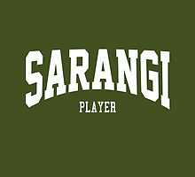 Sarangi Player by ixrid