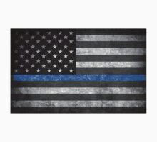 Thin Blue Line  One Piece - Short Sleeve