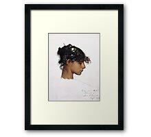 John Singer Sargent - Head Of A Capri Girl  Framed Print