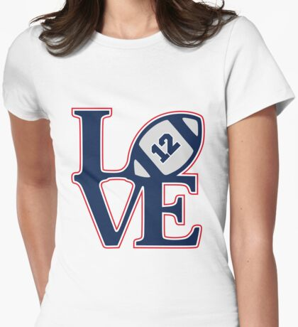 LOVE BRADY Womens Fitted T-Shirt