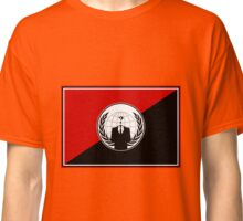 Anonymous (Anarchist Flag) Classic T-Shirt