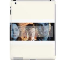 Doctor Who - Their Very Own Angel  iPad Case/Skin