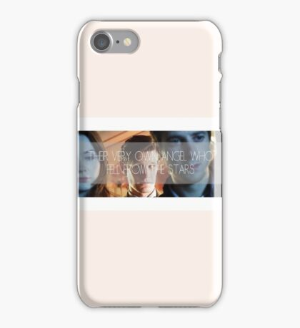 Doctor Who - Their Very Own Angel  iPhone Case/Skin