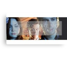 Doctor Who - Their Very Own Angel  Metal Print