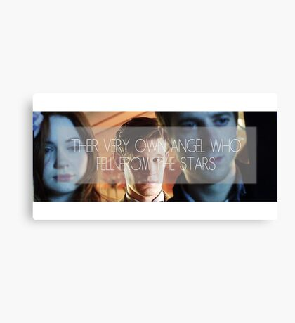 Doctor Who - Their Very Own Angel  Canvas Print