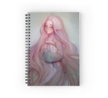 Pink Elf Girl Spiral Notebook