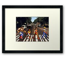 Abbey Road of Rage? Framed Print