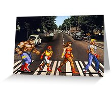 Abbey Road of Rage? Greeting Card