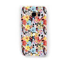 Cool pattern funny skulls Samsung Galaxy Case/Skin