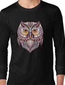 Ethnic Owl Long Sleeve T-Shirt