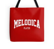 Melodica Player Tote Bag