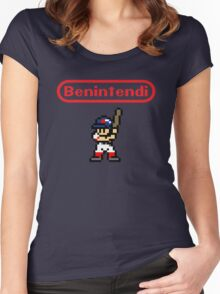 Benintendi sprite - Red Sox Women's Fitted Scoop T-Shirt