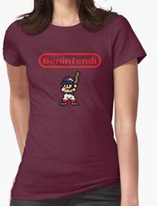 Benintendi sprite - Red Sox Womens Fitted T-Shirt