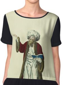Habit of the mufti or chief priest of the Turks in 1749 Le moufti 410 Chiffon Top
