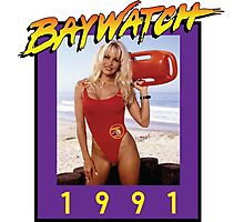 Misses Baywatch Photographic Print