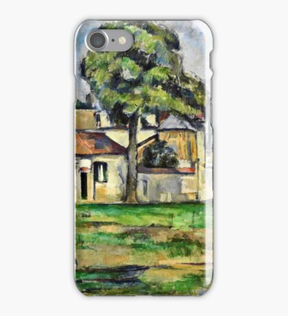 Paul Cezanne - Banks of the Marne (circa 1888)  iPhone Case/Skin