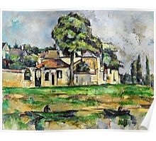 Paul Cezanne - Banks of the Marne (circa 1888)  Poster