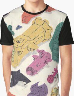 Spaceships Graphic T-Shirt