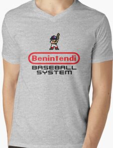 Benintendi Entertainment System - Red Sox Mens V-Neck T-Shirt
