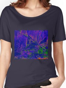 Purple pine needles Women's Relaxed Fit T-Shirt