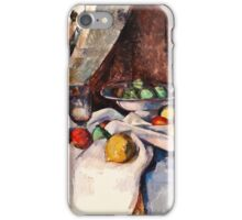 Paul Cezanne - Still Life with Apples (1895 - 1898)  iPhone Case/Skin