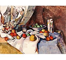 Paul Cezanne - Still Life with Apples (1895 - 1898)  Photographic Print