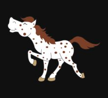 Appaloosa Red Roan Spotted Horse by JessDesigns