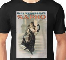 Performing Arts Posters Olga Nethersoles version of Sapho by Clyde Fitch 1340 Unisex T-Shirt
