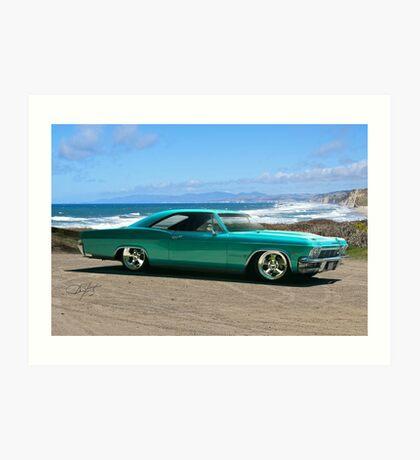 1963 Chevrolet Impala Custom Art Print