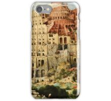 Pieter Bruegel the Elder -  Babylon  iPhone Case/Skin