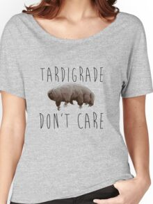 Tardigrade Don't Care! Women's Relaxed Fit T-Shirt