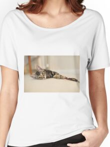 Playful Kitten Women's Relaxed Fit T-Shirt