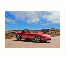 2004 Mazda Miata Roadster Art Print
