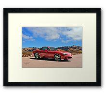 2004 Mazda Miata Roadster Framed Print