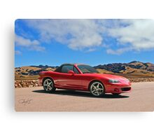 2004 Mazda Miata Roadster Canvas Print